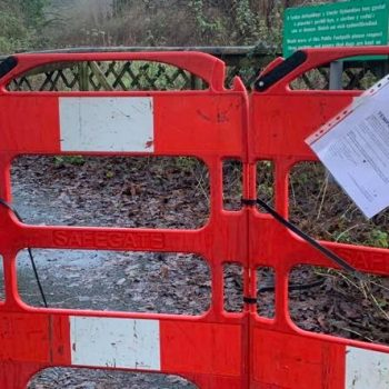 Is the footpath closed?