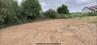 After-Commercial Land Clearance
